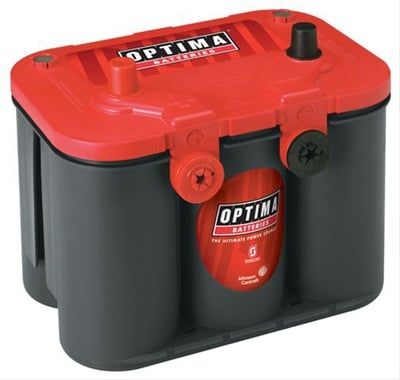 12V AGM Battery, Group 34/78, Red Top, Starting Battery