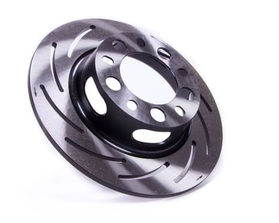 "Lightweight Brake Rotor, 11.25"" Dia., Tapered - Strange Forged Alum. Strut, 1-Piece, LH (Driver)"