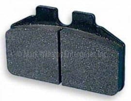 Brake Pad, Mark Williams 4 Piston Calipers