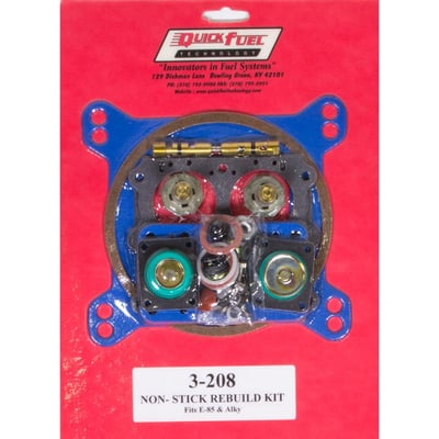 Carburetor Rebuild Kit, 4150 Series, Alcohol and E-85