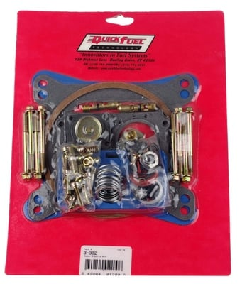 Carburetor Super Rebuild Kit, 4150 Series, Mechanical Secondary