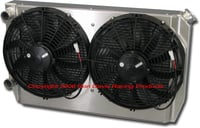 "Dual Pass Off-Road Radiator, 28"" x 16"" x 3"" Ford In / Out"