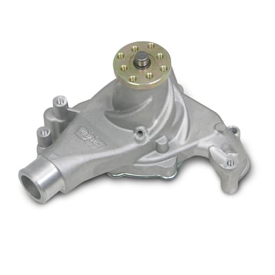 SBC Mechanical Water Pump, Long, Clockwise, Aluminum