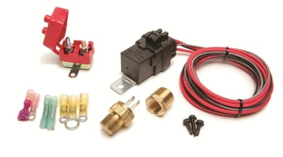 Thermostatically Controlled Weatherproof Fan Relay Kit, 30 Amp, 185°F On / 170°F Off