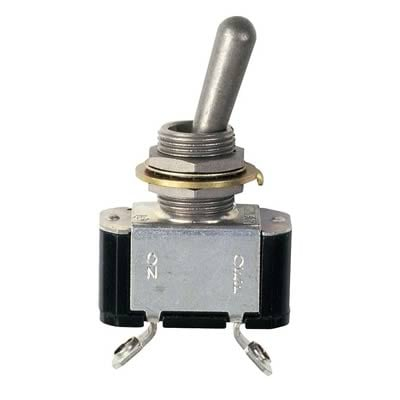 MSD Heavy Duty Toggle Switch, Off - On, 20 Amp