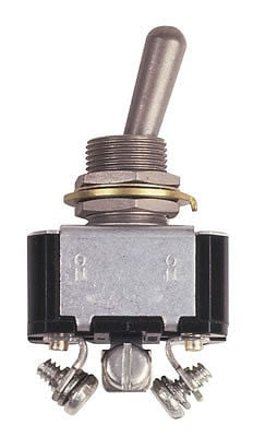 MSD Heavy Duty Toggle Switch, Single Pole - Double Throw, 20 Amp
