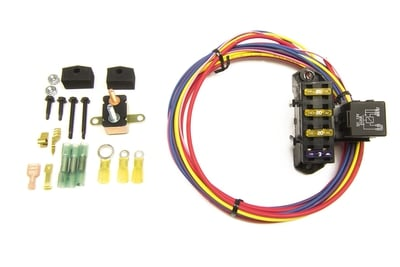 Fuse Block Kit, 3 Circuits (1 Constant, 2 Switched)