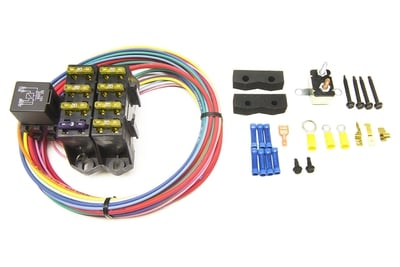 Fuse Block Kit, 7 Circuits (3 Constant, 4 Switched)