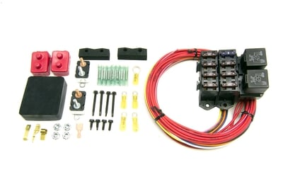 Weatherproof Fuse Block Kit, 7 Switched Circuits