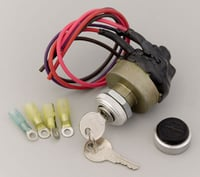 Waterproof Keyed Ignition Switch, 30 Amp