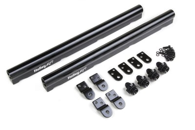 LS Hi-Flow EFI Fuel Rails - Fits LS1, LS2, LS3, LS6 & L99 Factory Intakes