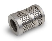 Replacement Fuel Filter Element, 100 Micron, Stainless Steel