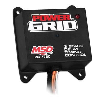 3 Stage Timing Controller for Power Grid