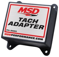 MSD Tach Adapter, Magnetic Pickup Ignition Systems