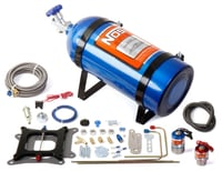 Cheater Nitrous Oxide System, 4150 Flange Plate, Wet, 150-250 HP